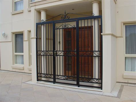 security doors galleries hindmarsh fencing wrought