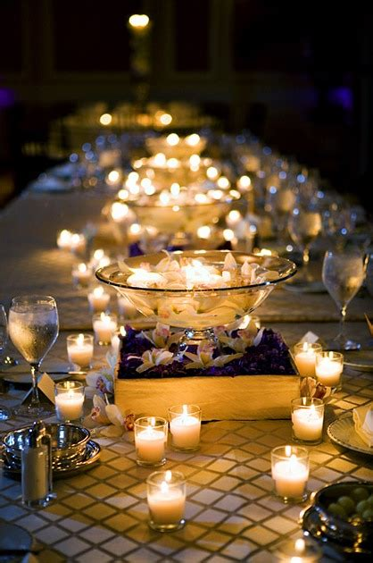 pictures of wedding centerpieces with candles memorable wedding wedding reception candle centerpieces