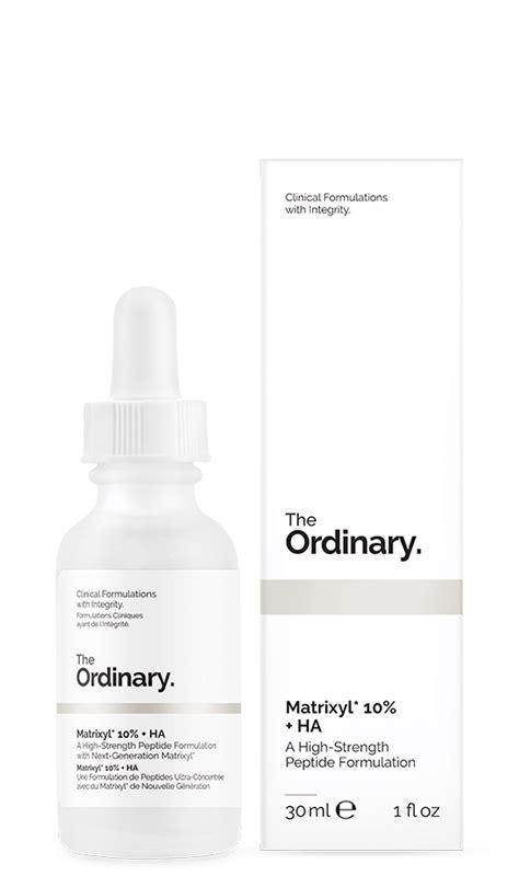 The Ordinary Matrixyl Size Ready the ordinary matrixyl 10 ha 30ml