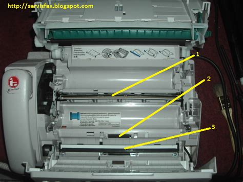 Mesin Fax Panasonik Kx Ft71 cara merawat mesin fax panasonic kx fp701 servis fax