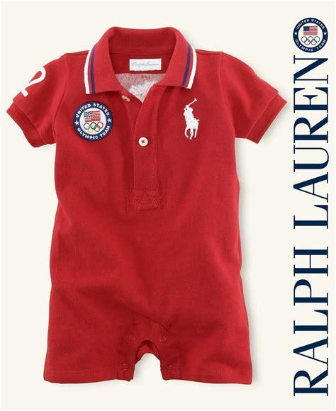 Polo Boy Usa ralph baby shortall baby boys team usa olympic polo shortall baby boy macy s
