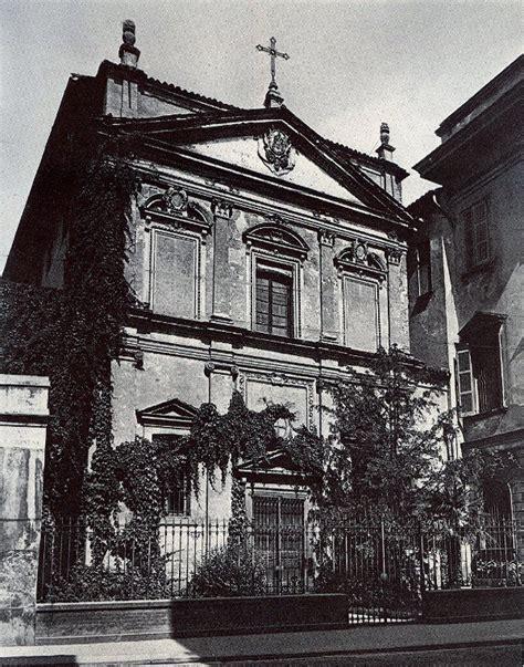 chiesa san porta crocetta la chiesa crollata e il triste