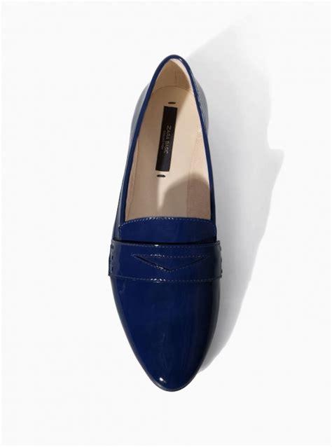 zara slipper shoes slipper shoes zara soft slipper shoe in navy 163 22 99