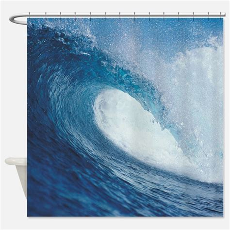 ocean curtains wave shower curtains wave fabric shower curtain liner