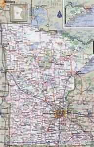 map with cities and roads large detailed roads and highways map of minnesota state