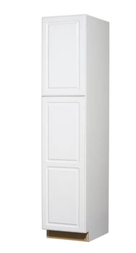 tall kitchen utility cabinets value choice 18 quot ontario white standard 2 door tall