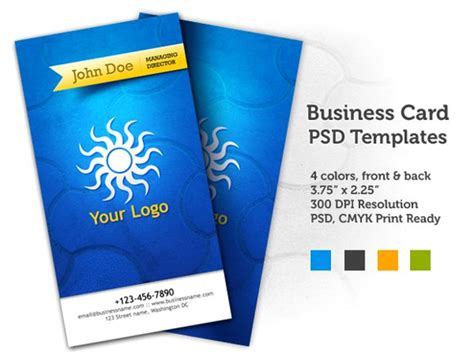 Credit Card Back Template Psd 100 Free Psd Business Card Templates