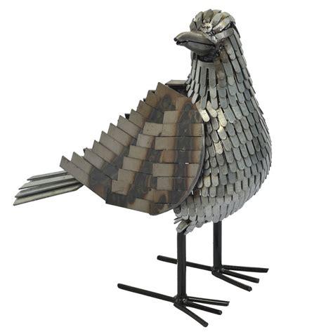 And Bird Sculptures by Seagull Metal Bird Sculpture Garden Gift