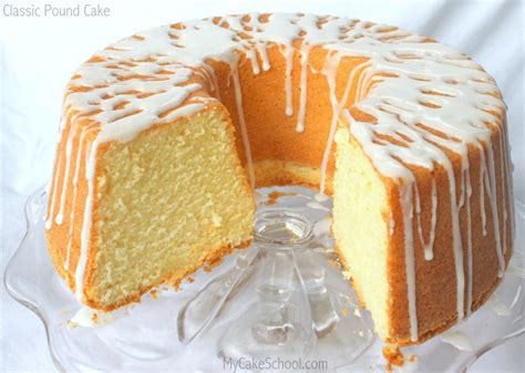 My Cake by Classic Pound Cake Recipe By My Cake School My Cake School