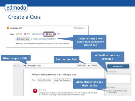 edmodo questionnaire edmodo for teachers