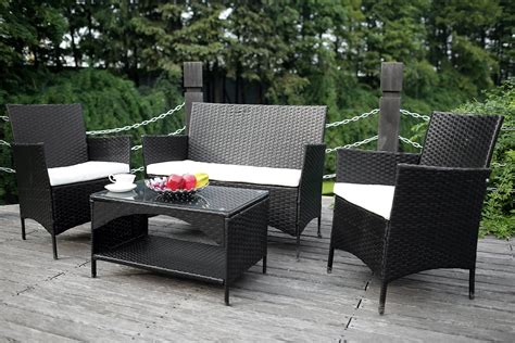 outdoor wicker furniture vintage wicker patio set modern patio outdoor