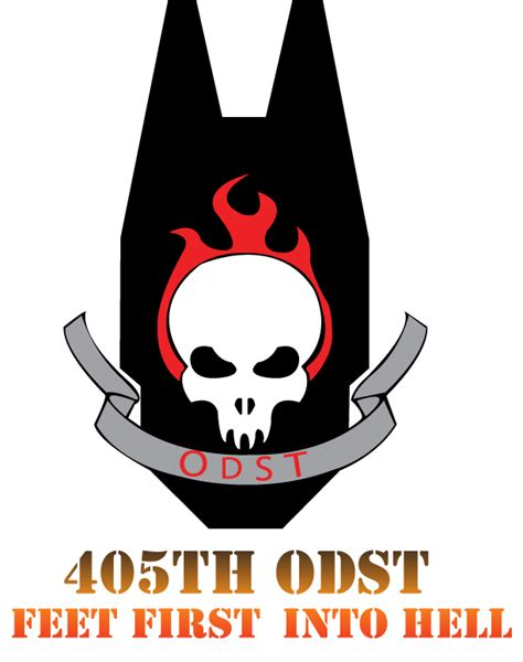 405th odst logo color by spartan 0013 on deviantart