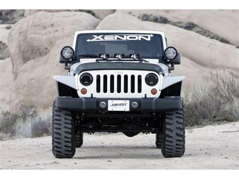 Jk Jeep Fenders Xenon Flat Fender Style Flare Kit For 07 16 Jeep 174 Wrangler