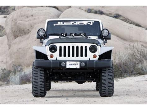 Jeep Jk Flat Fender Flares Xenon Flat Fender Style Flare Kit For 07 16 Jeep 174 Wrangler