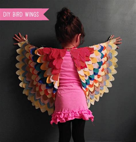 Handmade Wings - diy bird wings costume for handmade