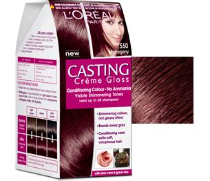 best hair color without ammonia l oreal paris casting creme gloss haarverf 550 mahogany