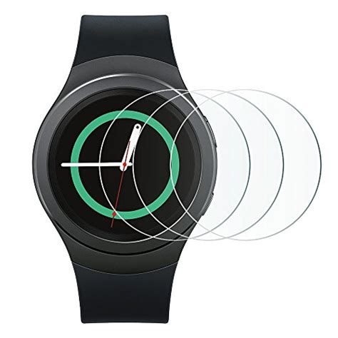 Screen Protector Clear Protective Smartwatch Samsung Gear S2 a z smart review 3 pack samsung gear s2 screen