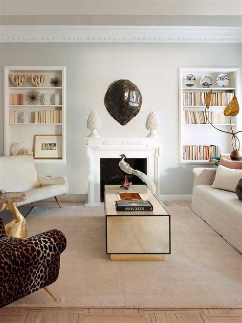 chimenea en un piso un piso elegante y chic nuevo estilo