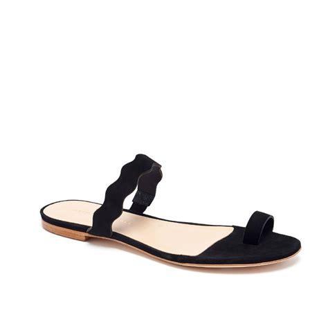 loeffler randall sandal loeffler randall petal slide sandal in black lyst