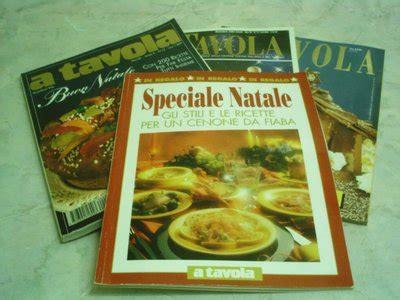 in tavola rivista 4 riviste a tavola speciale natale libri schemi e corsi