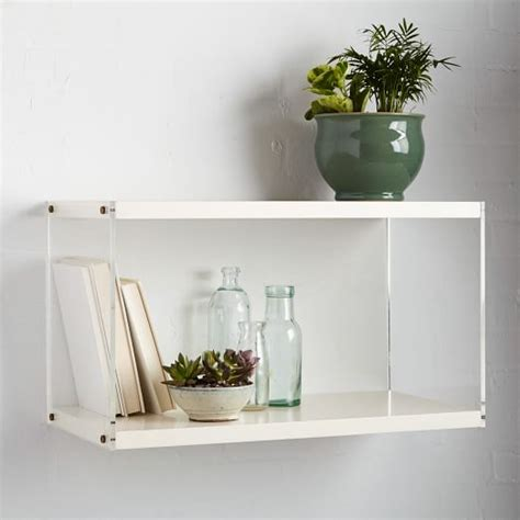 Acrylic Bathroom Shelves More Expensive But Stunning Organizing Products The Simple Brief