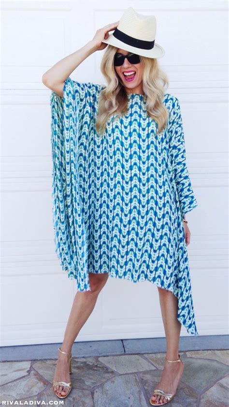 how to make a kaftan dress or top free pattern sew guide the perfect summer caftan dress tutorial riva la diva