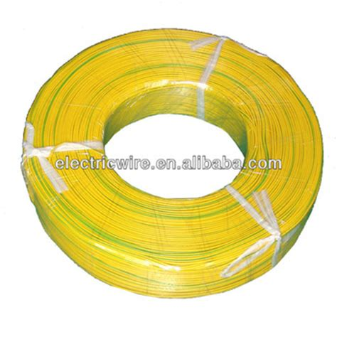 ul1007 22awg electrical wire color yellow and green