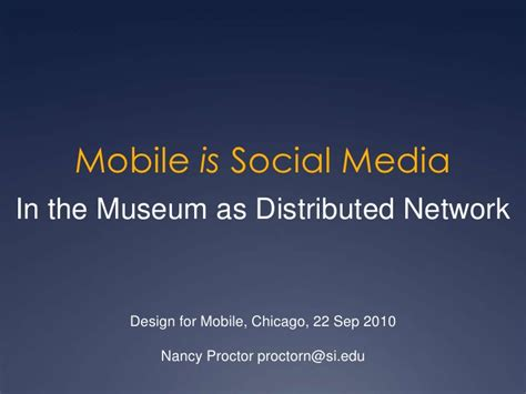 museum communication and social media the connected museum routledge research in museum studies books mobile is social media in the museum as distributed network