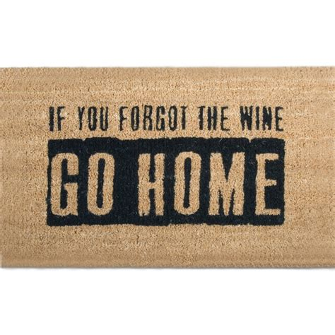 Welcome Mat Sayings by Outdoor Welcome Mat Where Is The Wine In Doormats