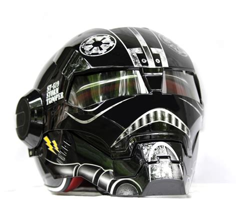 Motorradhelm Occasion by Masei Black Us Army Trooper 610 Motorcycle Harley