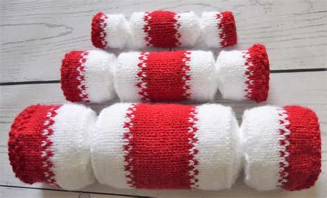 knitting pattern christmas cracker christmas cracker trio knitting by post