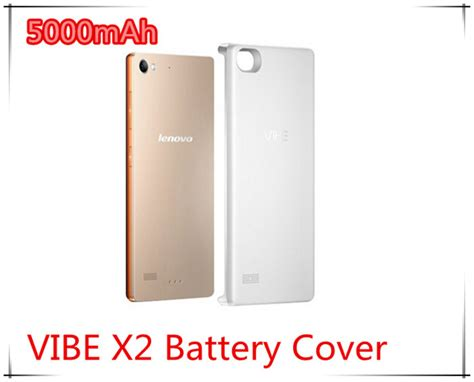 Hp Lenovo Vibe Baterai 5000mah new 5000mah lenovo vibe x2 back battery cover power back housing with power bank jpg