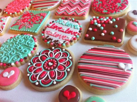 colorful cookies girly colorful cookies colorful cookies
