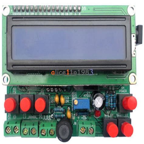 inductance meter using pic microcontroller diy kit led capacitance frequency inductance tester meter 51 microcontroller ebay