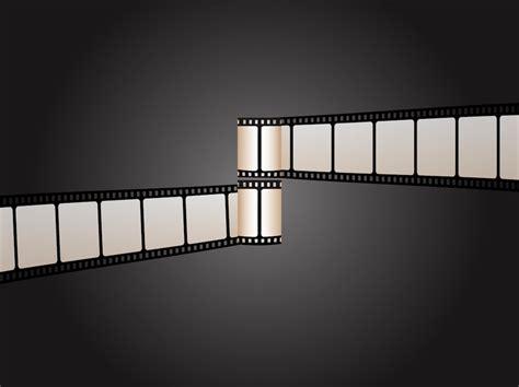 Retro Film Strips Cinema Equipment Backgrounds Presnetation Ppt | retro film strips cinema equipment backgrounds