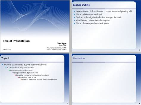 Open Office Templates Presentation Openoffice Org Impress Templates