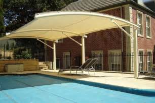 Triangle Awning Pool Shade Ideas 7 Ways To Cover Your Swimming Pool