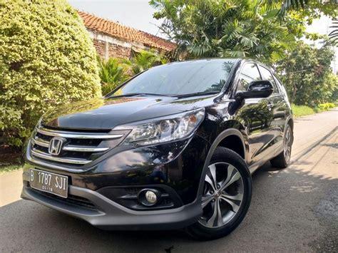 Jual Honda Crv 2 cr v crv 2 4 2013 hitam dp20 low km cashkredit