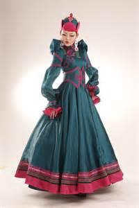 local fashion mongolian wedding dresses