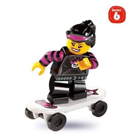 Lego Orange Roller Skate Lego Accessories buy lego skater minifigure series 6 the daily brick lego parts shop