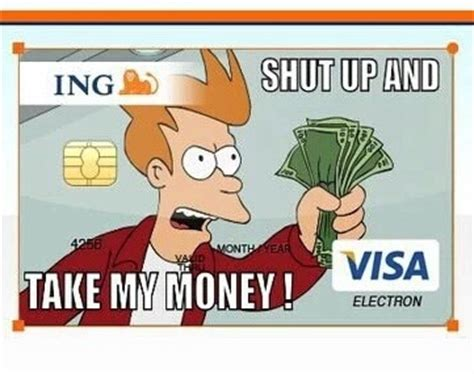 Shut Up And Take My Money Credit Card Template by Shut Up And Take My Money By Thefunnyamerican On Deviantart