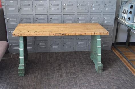 kitchen island bench for sale industrial worktable kitchen island maple top with steel bench press base for sale at 1stdibs