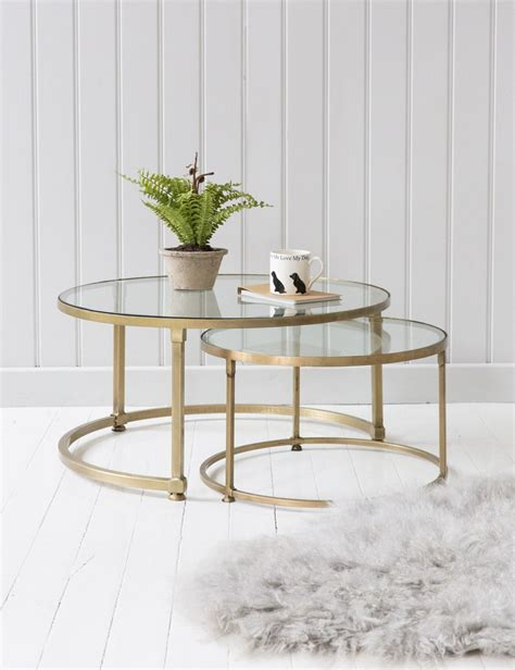 glass top coffee table set stacking glass coffee table set grey