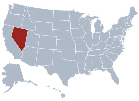 us map states nevada nevada state information symbols capital constitution