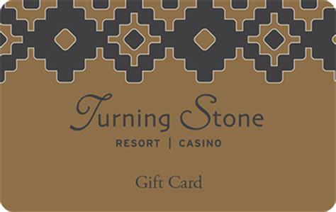 turning stone gift card - Turning Stone Gift Card