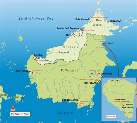 Borneo Kalimantan gebied