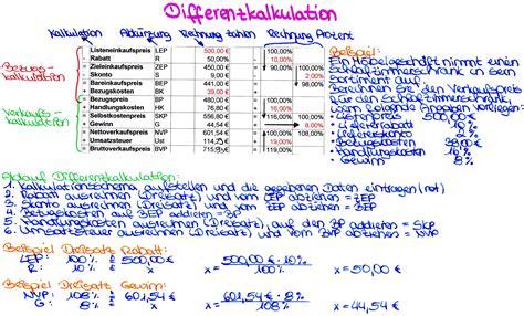 Word Vorlage Einfã R 252 Ckw 228 Rtskalkulation Mein Weg Zur Handelsfachwirtin
