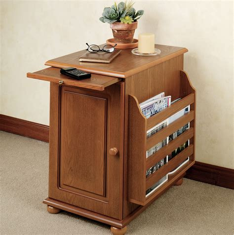Storage Side Table Small Side Tables With Storage Home Design Ideas