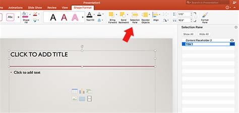 how to create powerpoint photo slideshow on mac and windows pc using selection pane in powerpoint for mac