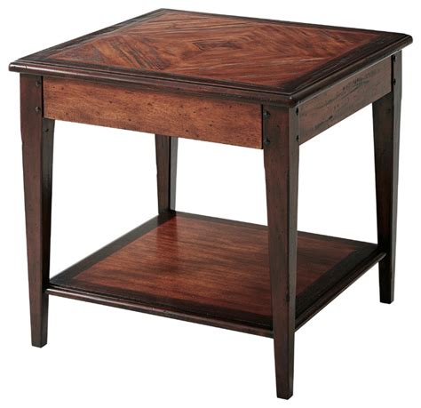 wine country table traditional side tables and end